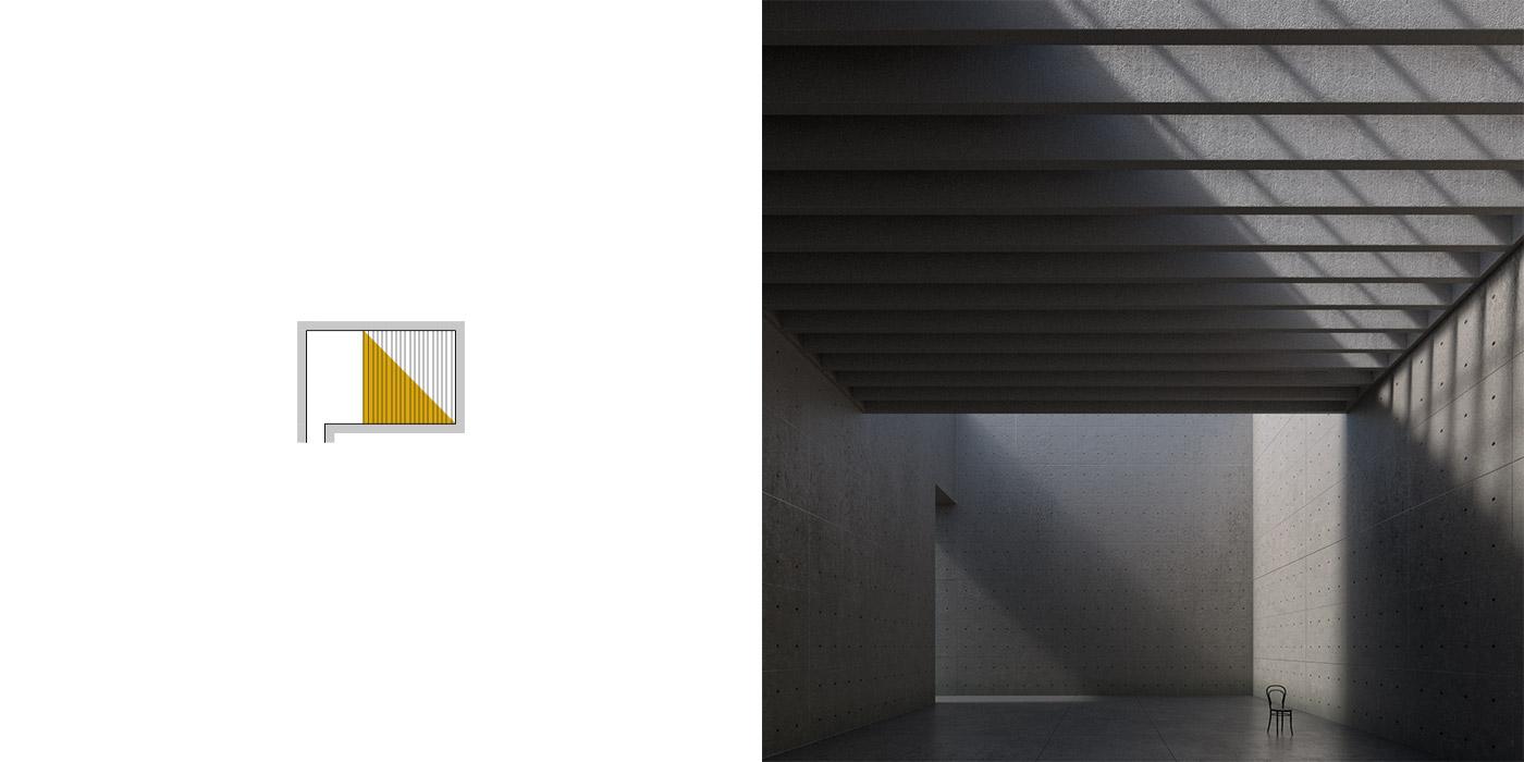 Variazioni dell'illuminazione inBblender, versione A1