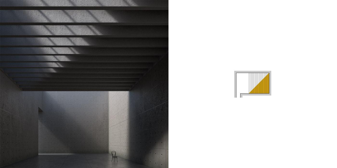 Variazioni dell'illuminazione inBblender, versione A2