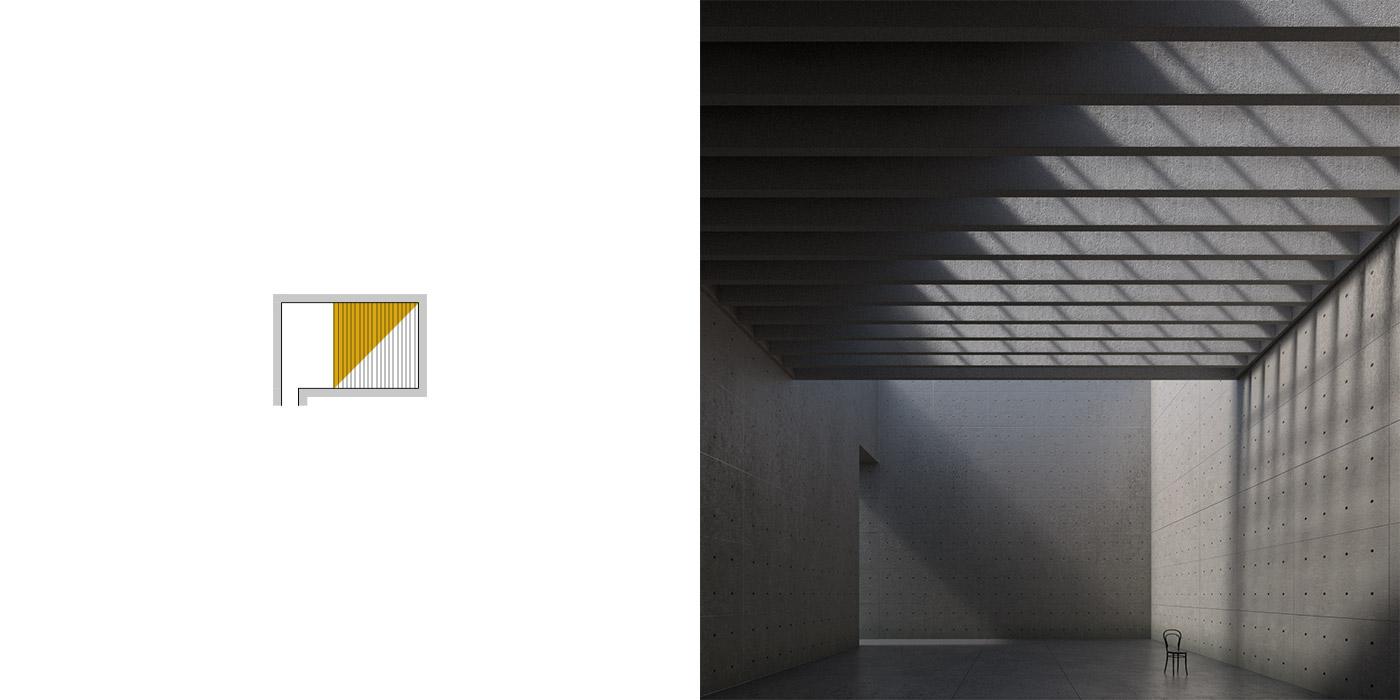Variazioni dell'illuminazione inBblender, versione A4